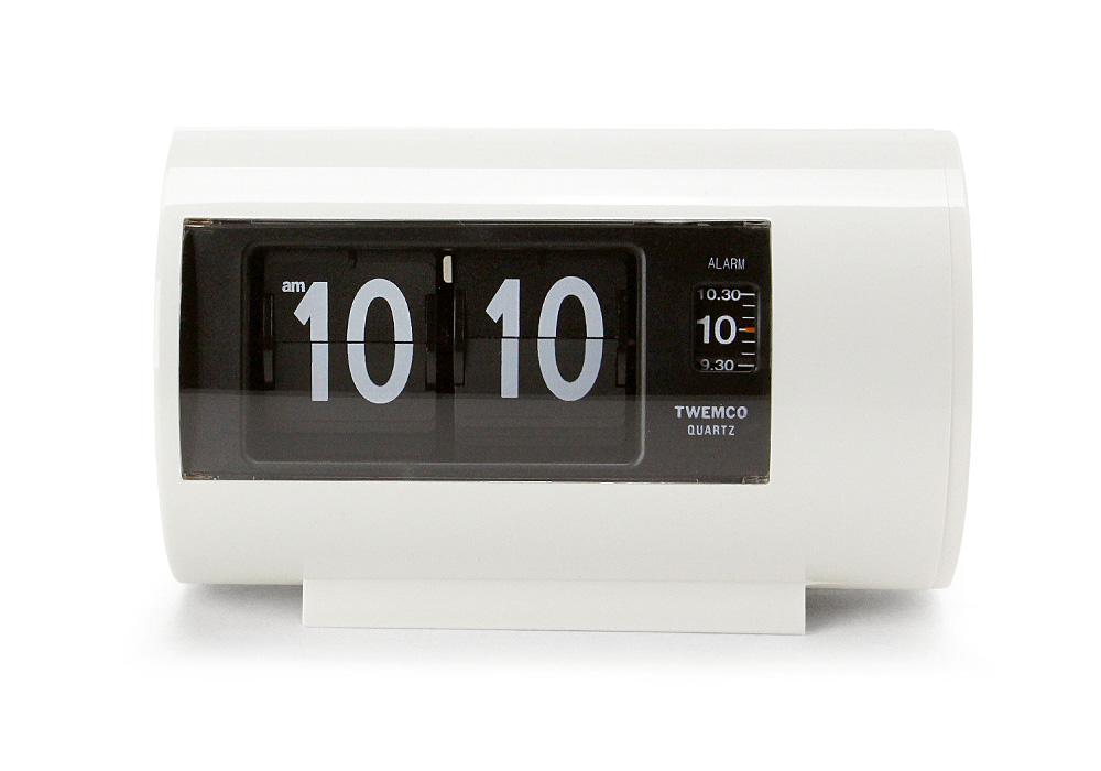 Twemco Alarm Clock #AP-28 White