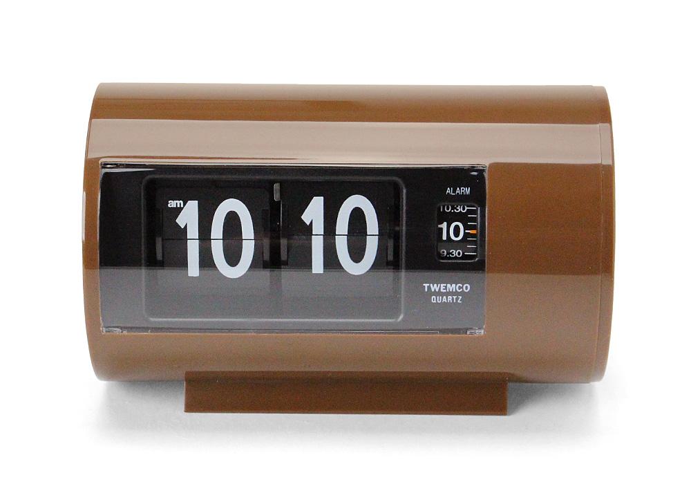Twemco Alarm Clock #AP-28 Brown