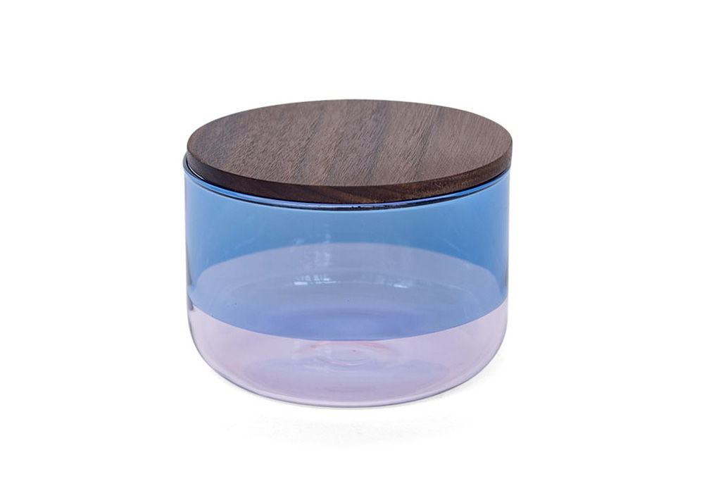 TWO TONE CANISTER Blue×Pink