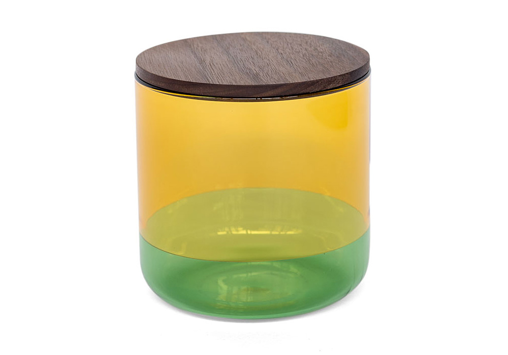 TWO TONE CANISTER Yellow×Green