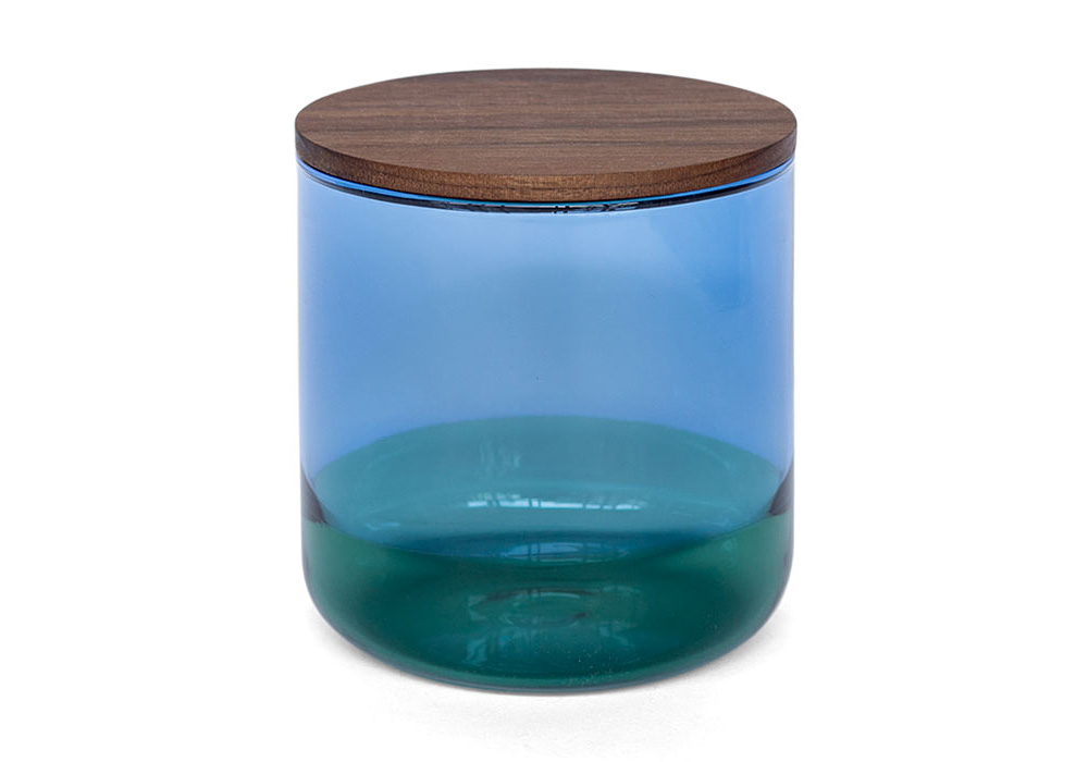 TWO TONE CANISTER Blue×Green
