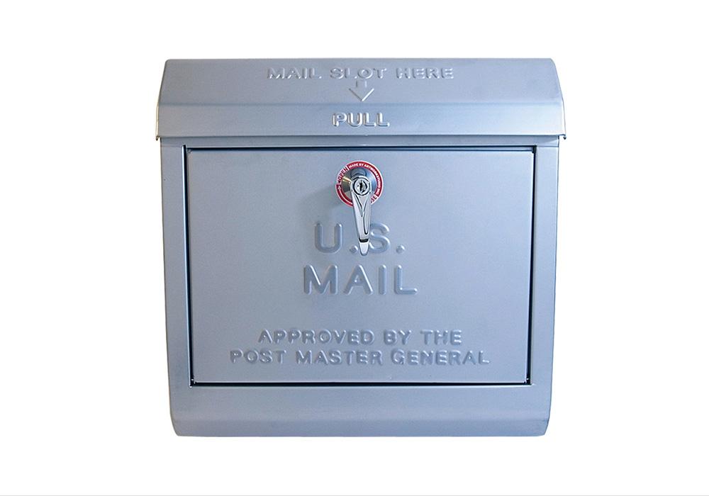 U,S, Mail box 1(ユーエス メールボックス 1)SV (シルバー)のイメージ写真