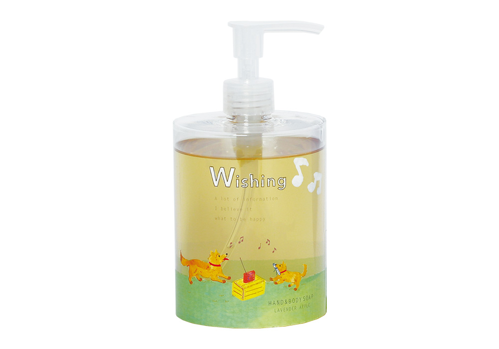 Wishing ORGANIC HAND & BODY SOAP LAVENDER APPLEのイメージ写真